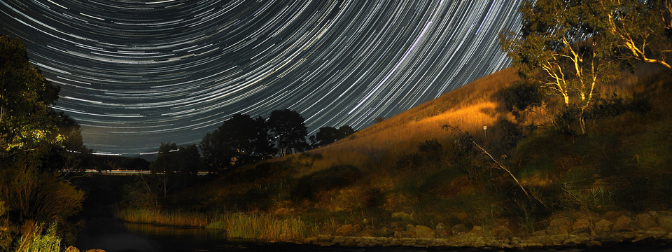 example star trail