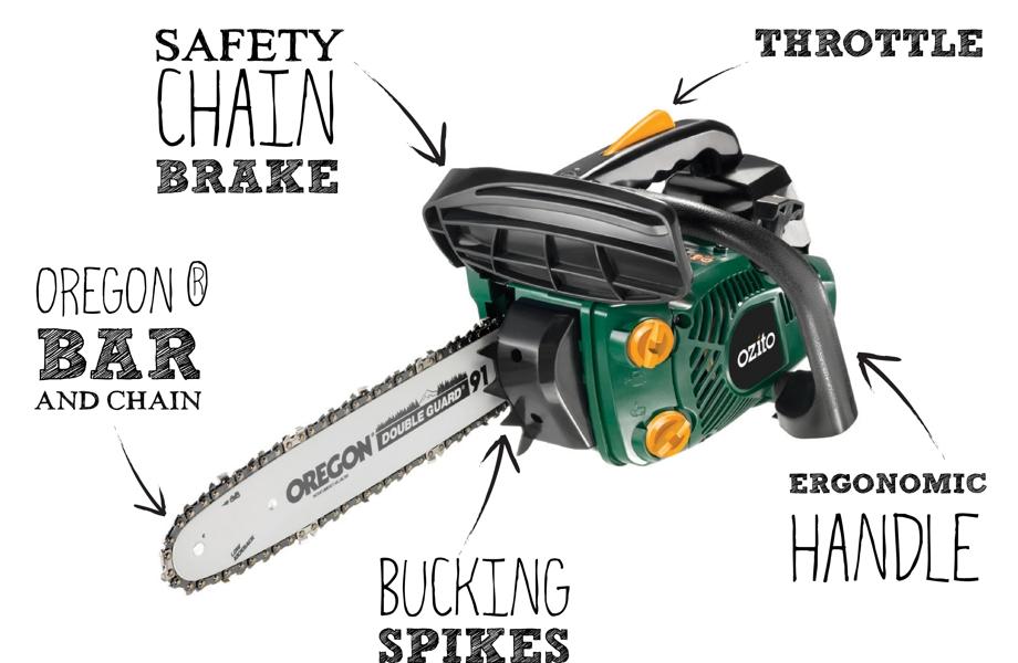 254cc chainsaw