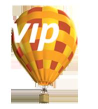 baloon banner logo