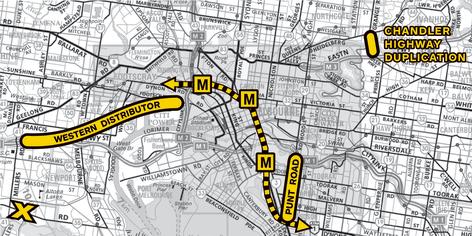 ratio major transport project