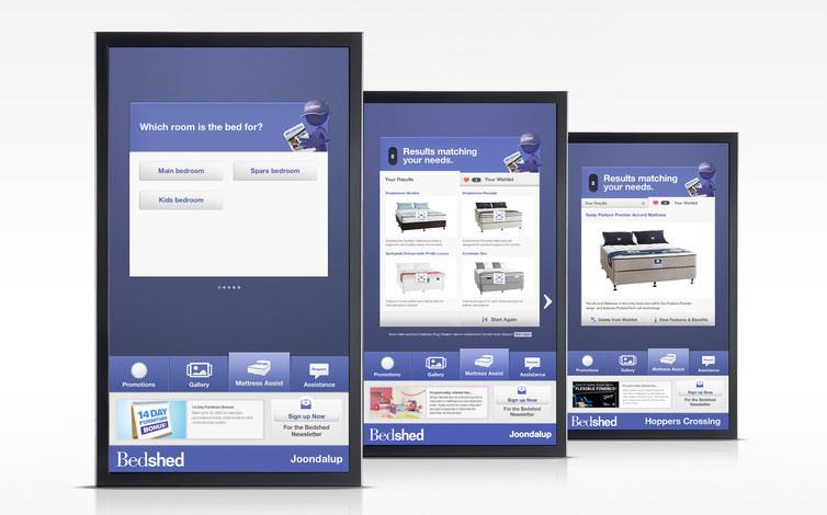 bedshed 42 display mock 0006 mattress assist