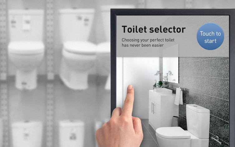 Groovy Gwa Toilet Selector Web Based Kiosk In Store Digital Gmtry Best Dining Table And Chair Ideas Images Gmtryco