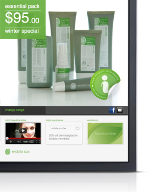 technology services digital retail signage